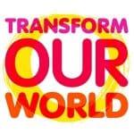 Transform our world logo